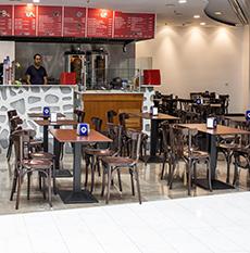 Restaurante Hebe Kebap As Cancelas Centro Comercial Santiago de Compostela