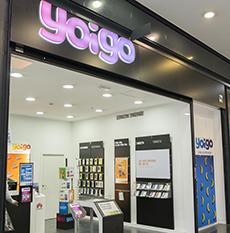 Yoigo en As Cancelas Centro Comercial Santiago de Compostela