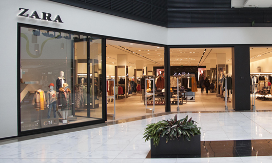 Moda hombre y mujer Zara As Cancelas Centro Comercial Santiago de Compostela