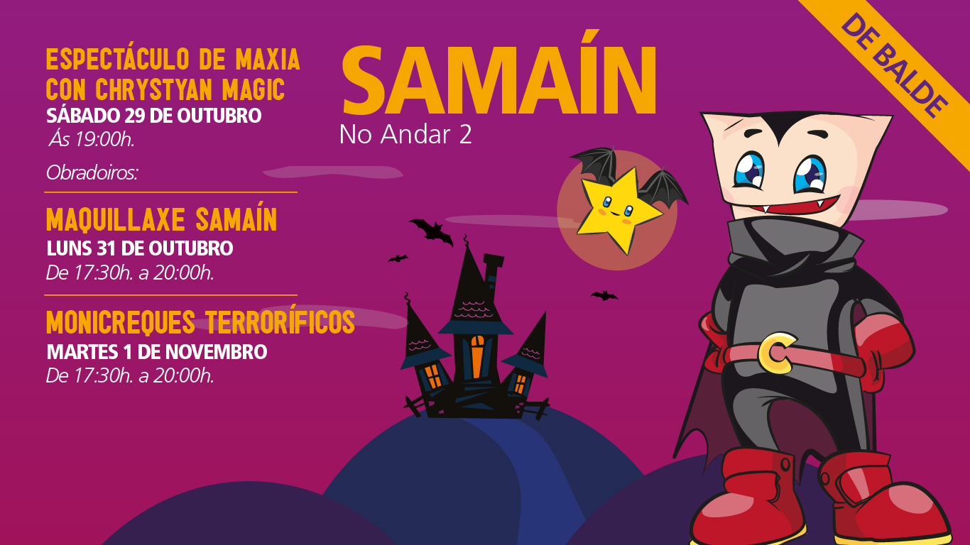 Actividades Samaín As Cancelas