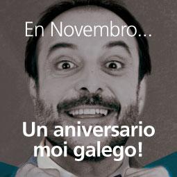 Un aniversario moi galego
