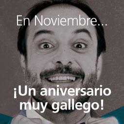 Un aniversario muy gallego