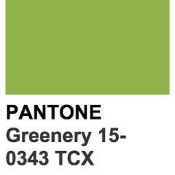 Greenery: el color del 2017 según Pantone