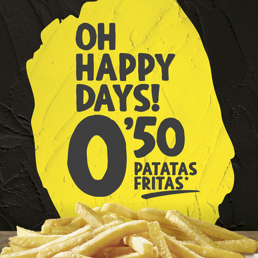 Abrir Happy days en Pans&Company