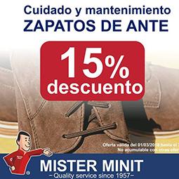 Abrir Cuida tu calzado con los productos de Mister Minit