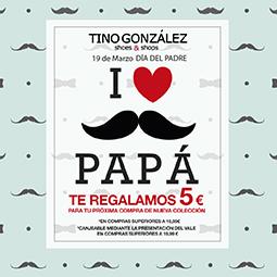 Abrir Tino González te regala un vale de 5€