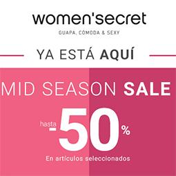 Abrir Mid Season Sale en Women'secret