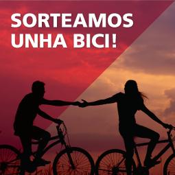 Abrir Consegue unha bicicleta de paseo gratis