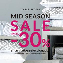 Abrir Mid Season en Zara Home