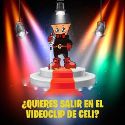 Abrir ¡Participa en la grabación del videoclip de Celi!