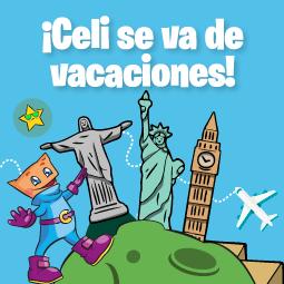 Abrir ¡Celi se va de vacaciones!