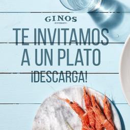 Abrir ¡Ginos te invita a un plato!