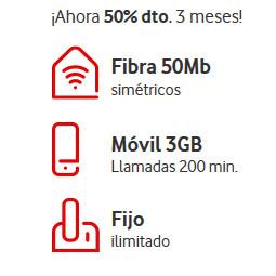 Abrir Vodafone One a mitad de precio