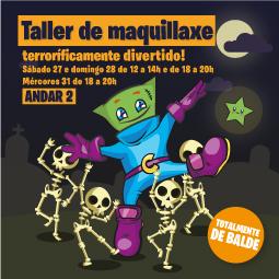 Abrir Celebra Halloween connosco