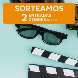 Abrir Sorteamos 2 entradas de cine dobres cada semana!
