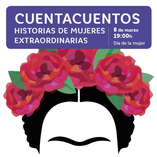 Abrir Cuentacuentos sobre mujeres extraordinarias de la historia