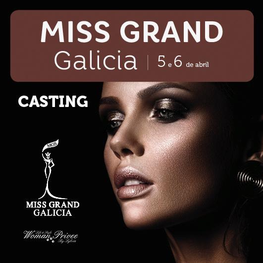 Abrir Miss Grand Galicia: inscríbete no casting