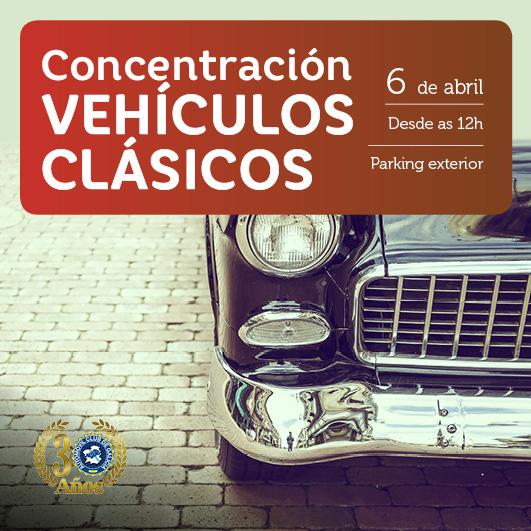 Abrir Ven á nosa concentación de vehículos clásicos