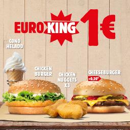 Abrir O EuroKing voltou a Burger King cos mellores prezos