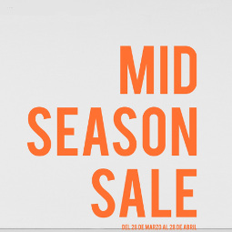 Abrir A Mid Season Sale máis primaveral xa está en Sfera