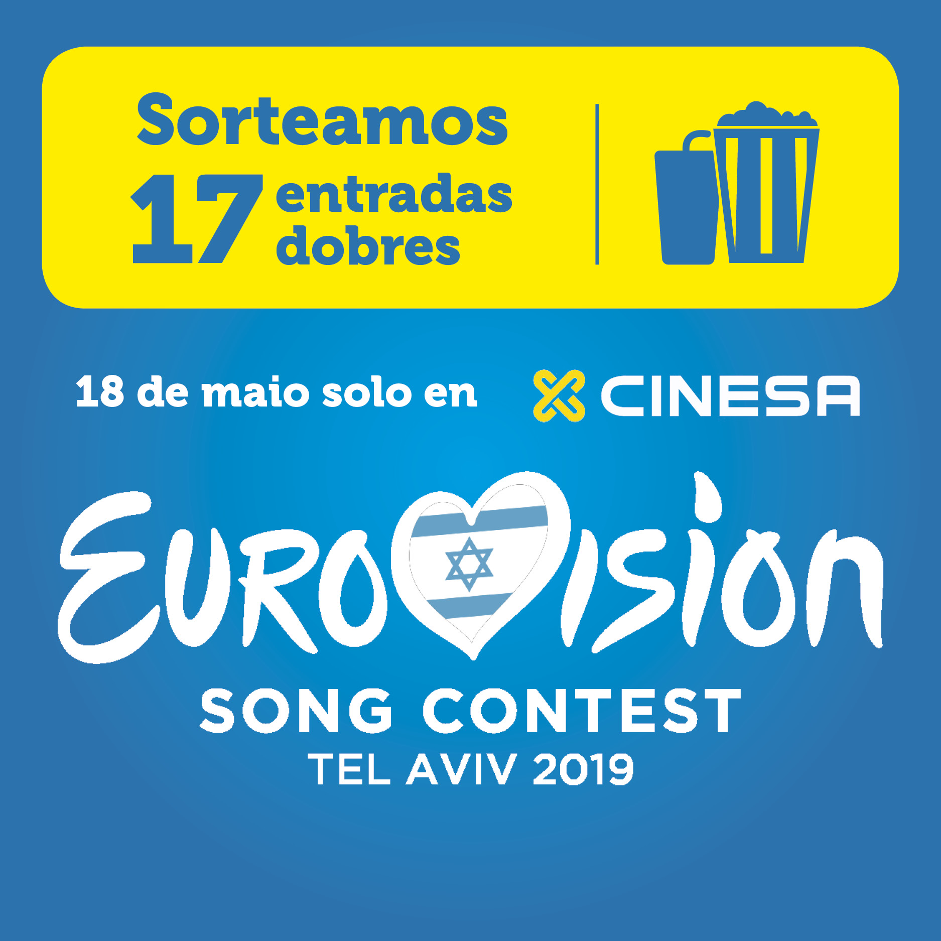 Abrir Goza da gala de Eurovisión en Cinesa As Cancelas
