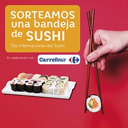 Abrir ¡Sorteamos una bandeja de Sushi de Carrefour!