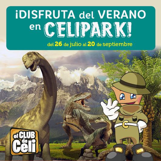 Abrir Desfruta do verán no CeliPark!