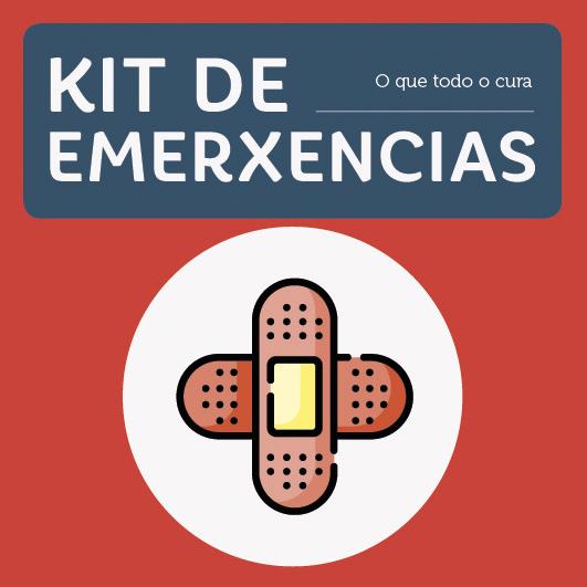 Abrir Kit de emerxencias para solucionar pequenos contratempos