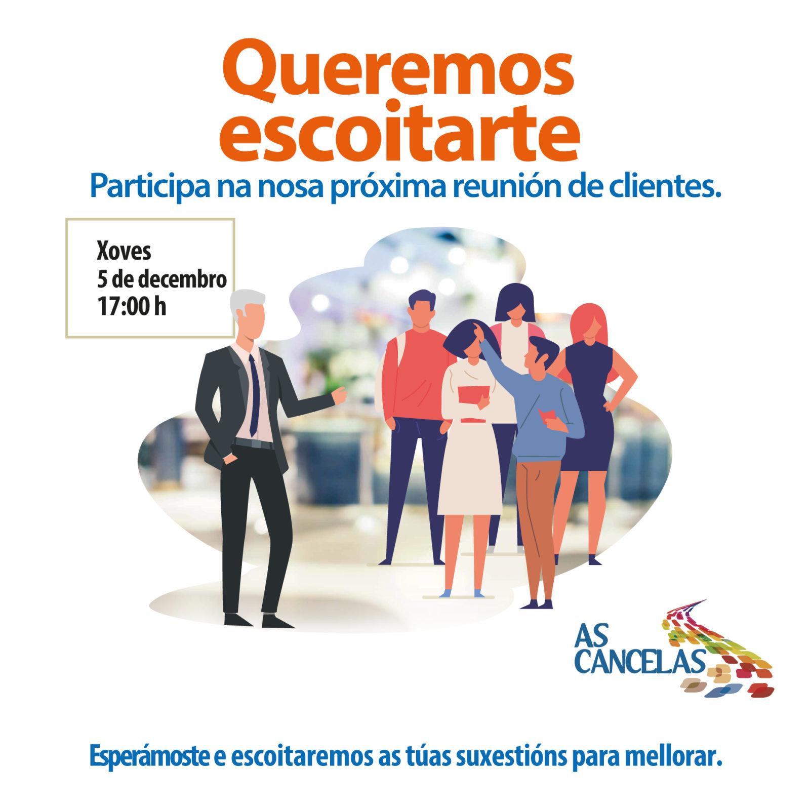Abrir Participa na nosa mesa de clientes!