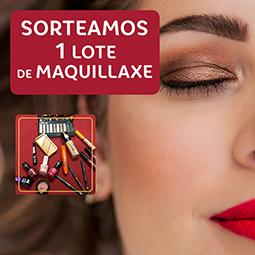Abrir Sorteamos un lote de produtos de maquillaxe de Arenal Perfumerías!