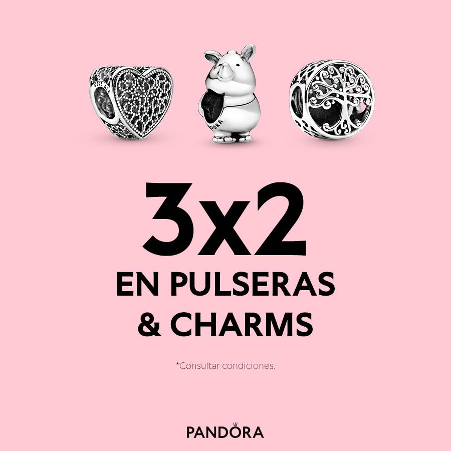 Abrir Promoción 3×2 en pulseras y charms en Pandora