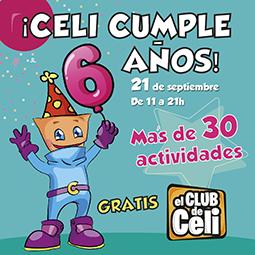Abrir Estás invitado: Celi celebra su sexto cumpleaños