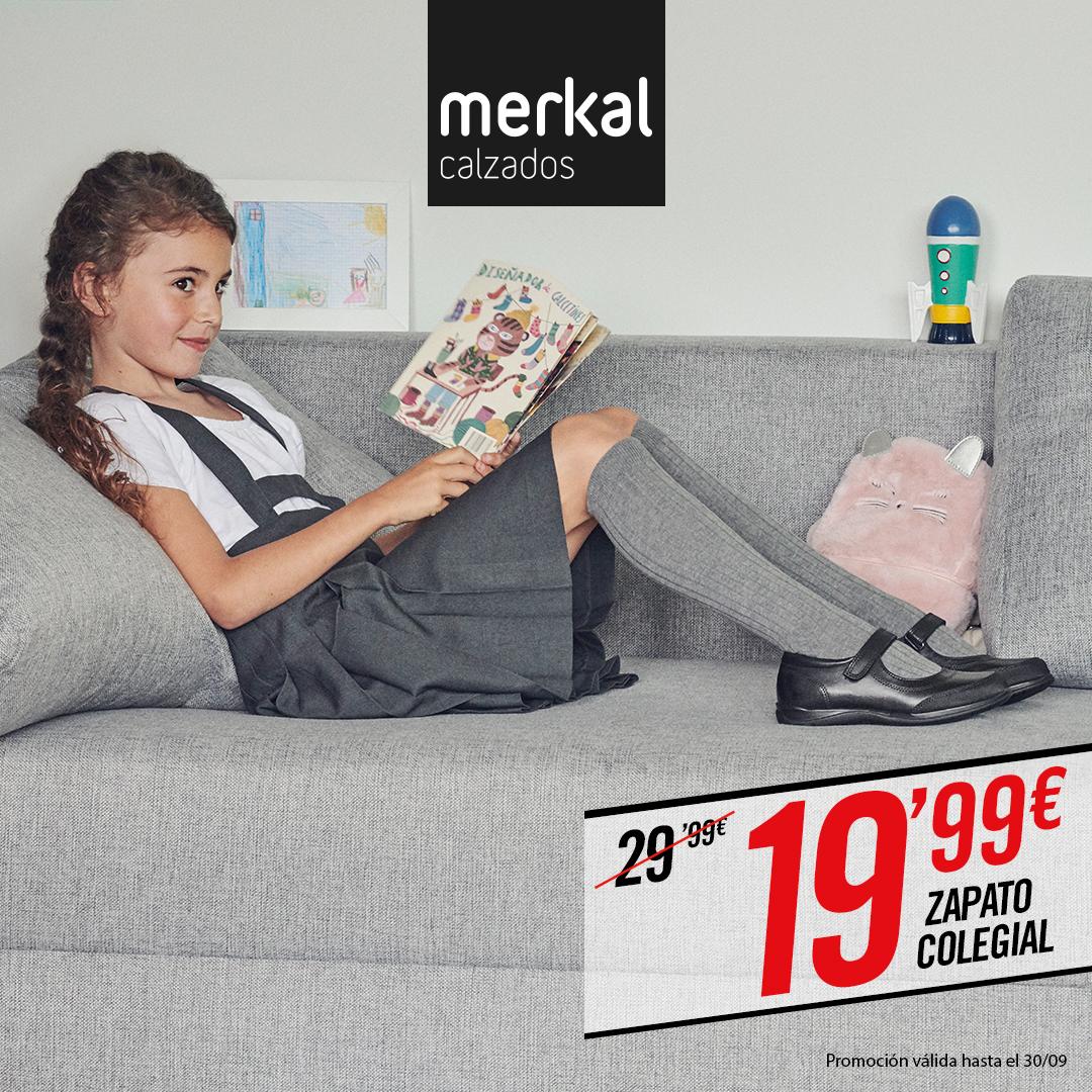 Abrir Consigue zapatos para el colegio con Merkal