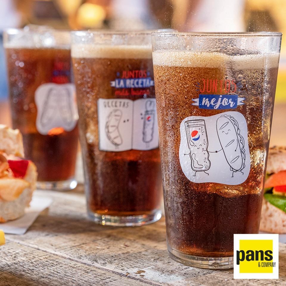 Abrir Llévate un vaso de regalo con Pans & Company