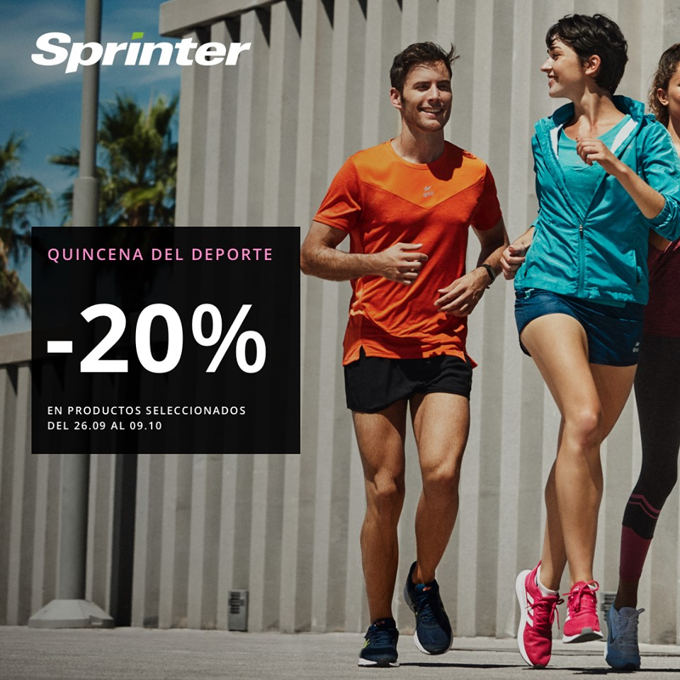 Abrir Llega a quincena del deporte a Sprinter
