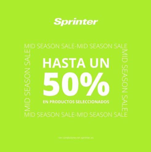 Abrir Os mellores descontos na Mid Season Sale de Sprinter