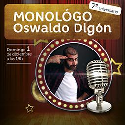 Abrir ¡Ven a reírte a As Cancelas con Oswaldo Digón!