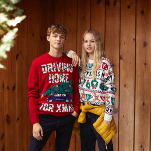 24 jerséis navideños para toda la familia