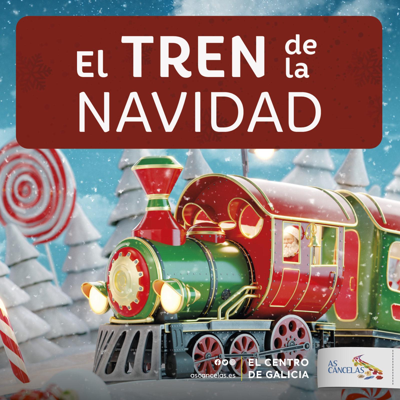 Abrir El tren de la Navidad llega a As Cancelas