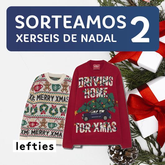 Abrir Sorteamos 2 xerseis de Nadal para triunfar estas festas