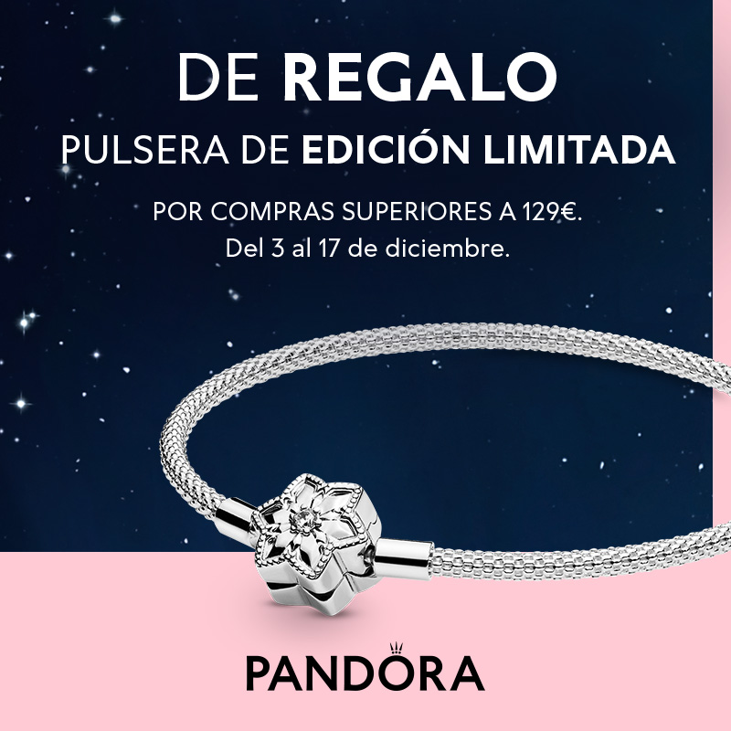 Abrir Consegue a túa pulseira para o Nadal con Pandora