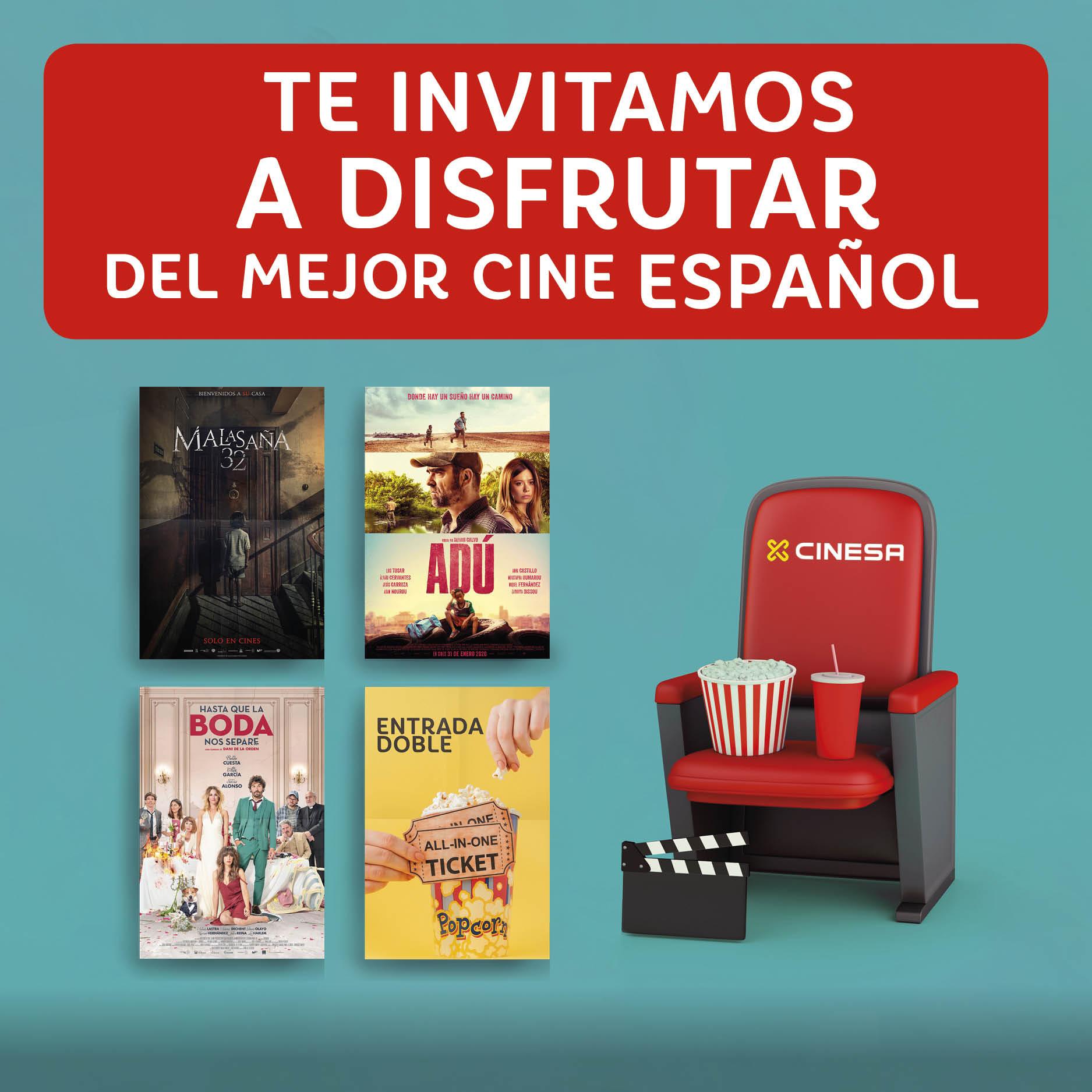 Abrir Te invitamos a disfrutar del mejor cine español