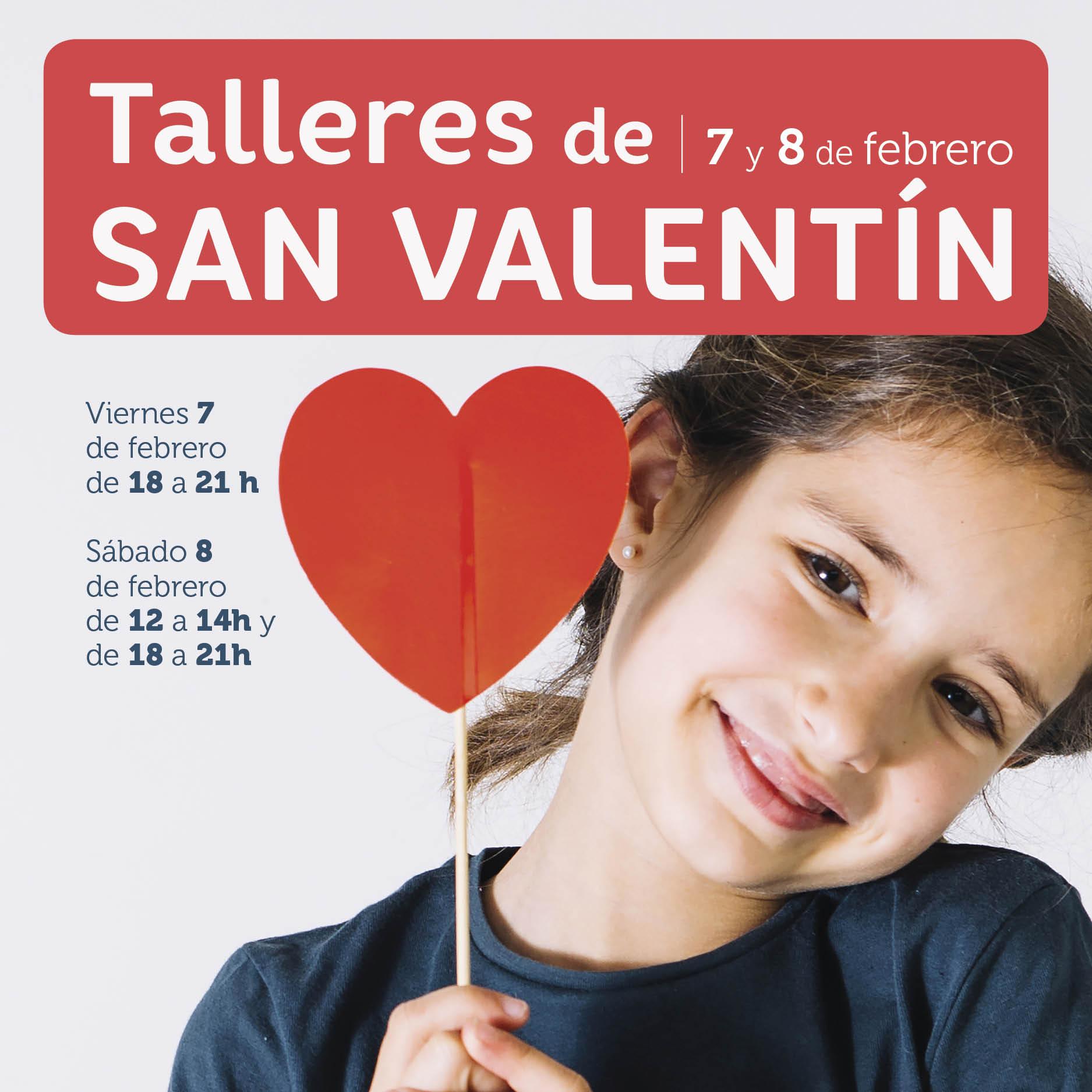 Abrir 7 y 8 de febrero: talleres infantiles de San Valentín