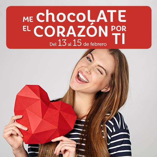Abrir Este San Valentín, nos chocoLATE el corazón por ti