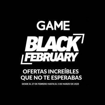 Abrir Ofertas incribles no Black February de GAME