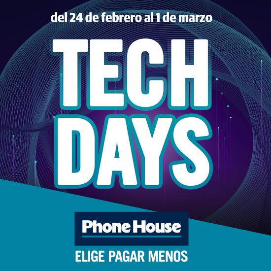 Abrir 20% de desconto nos Tech Days de Phone House