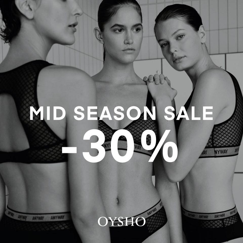 Abrir Aproveita os descontos de Mid Season Sale de Oysho