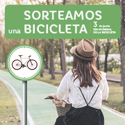 Abrir Sorteamos una fantástica bici por el Día Mundial de la Bicicleta
