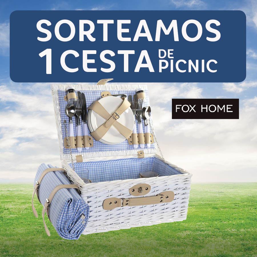 Abrir Sorteamos 1 fantástica cesta de Picnic de Fox Home