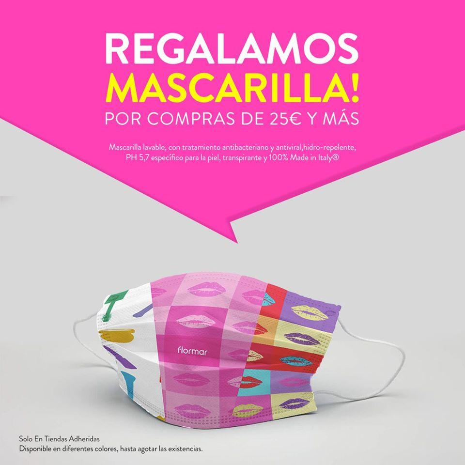Abrir Leva unha máscara de agasallo coas túas compras en Flormar